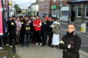 "Thuggish Muslim Vigilante Style Patrols Praised as ""Concerned Citizens"" By The Media"